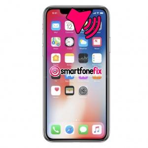 call speaker not working iphone x