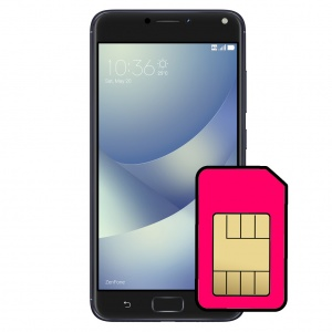 Asus ZenFone 5 Sim Card Connector Repair Service