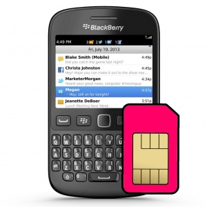 Blackberry 9720 Sim Card Connector Repair Service