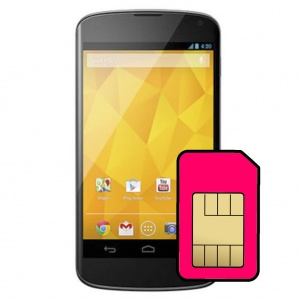 LG Nexus 4 Sim Card Connector Repair Service