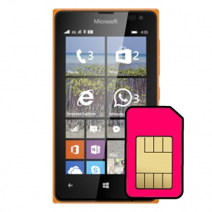 Microsoft Lumia 435 Sim Card Connector Repair Service