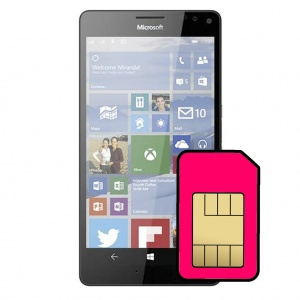 Microsoft Lumia 950 XL Sim Card Connector Repair Service