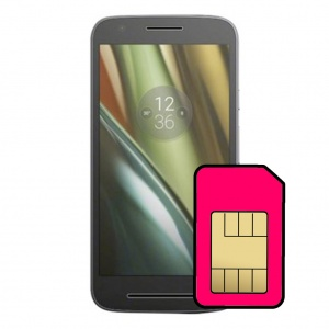 Motorola Moto E3 Sim Card Connector Repair Service