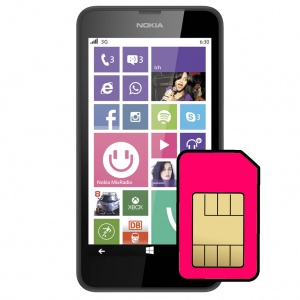 Nokia Lumia 630 Sim Card Connector Repair Service