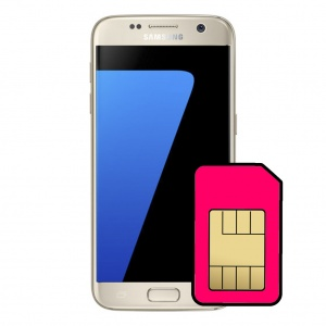 Samsung Galaxy S7 Sim Card Connector Repair Service