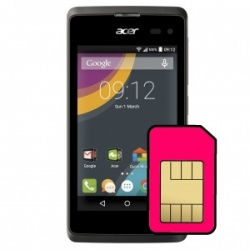 Acer Liquid E3 Sim Card Connector Repair Service
