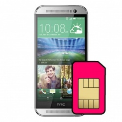 HTC One M8 Sim Card Connector Repair Service
