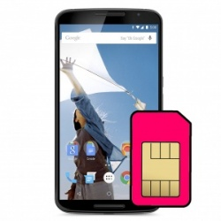 Motorola Nexus 6 Sim Card Connector Repair Service